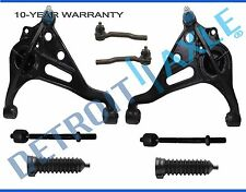 8pc Front Inner Outer Tierod Lower Control Arm Suzuki Vitara Chevy Tracker