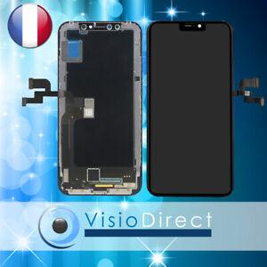 Ecran complet pour iPhone X Vitre tactile + LCD sur chassis ARGENT