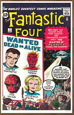 Fantastic Four #7  poster art print '92  Jack Kirby