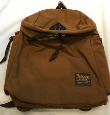 FILSON  Ballistic Nylon Field Pack / Backpack Whiskey, NWT