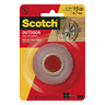 Scotch® Outdoor Mounting Tape 411DC-SF, 1 in x 60 in (25,4 mm x 1,52 m)