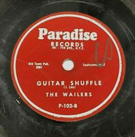 """Hal Paige & The Wailers Guitar Shuffle / My Angel Child 78 RPM 10"""" Vintage 1955"""