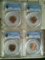 2013 D Lincoln Shield Cent PCGS SAMPLE