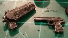 Marvel Legends 6 Inch Scale Custom Sculpt 2 sided holster and desert eagle