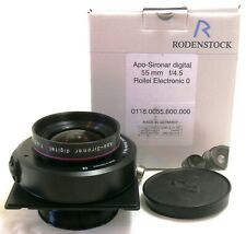 Rodenstock Apo Sironar Digital 55mm f/4.5 lens in Rollei Electronic 0 EXC++