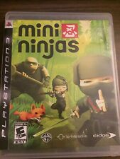 New listing Mini Ninjas (Sony PlayStation 3, Ps3, 2009) - Complete with manual