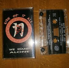 Sick of it All We Stand Alone EP Cassette 1991