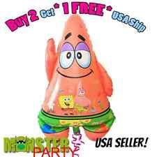Spongebob Presents Patrick Boy or Girl Birthday Party Foil Balloon for all Ages.
