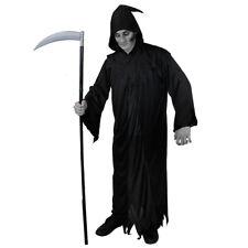 IL Grim Reaper HALLOWEEN Black Adult Death Costume & Scythe Accessories 4025 072