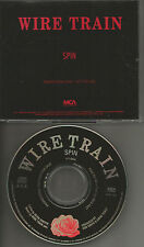 WIRE TRAIN Spin 1990 PROMO Radio DJ CD Single SHERYL CROW Band Members