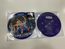 """ABBA PICTURE DISC  7"""" I HAVE A DREAM / TAKE A CHANCE ON ME  2019"""