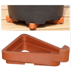 12pcs Potted Plant Stand Flower Pot Holder Pot Toes for Garden Plant Container~