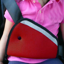 Car Triangle Baby Safety Seat Belt Cover Adjuster Red