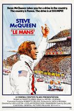 """Steve McQueen """"Le Mans""""  Vintage Poster"""