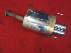 Edelstahl Endschalldämpfer Honda EG2 EG3 EG4 EG5 EG6 EH6 Bj.1992-1998