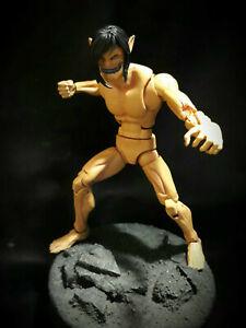 Marvel Legends DC Universe Attack On Titan Eren Custom Figure Hasbro Toybiz