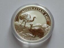AUSTRALIEN 2020  1 DOLLAR 1 OZ SILVER 9999 AUSTRALIAN EMU  in STGL.