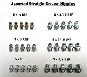 Grease Nipples-Imperial 5//16 BSF Pack OF 10