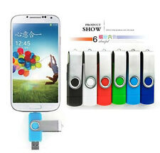 16GB Micro USB 2.0 Flash Pen Drive Stick U Disk for OTG Smart phone Tablet PC