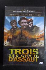 DVD guerre trois des chars d'assaut neuf emballé 1950