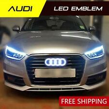 AUDI LED Badge Emblem Logo A3 A4 A5 A6 A8 Q3 Q5 A1 A3 TT A5 A7 Light Grill Glow