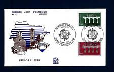 FRENCH ANDORRA - ANDORRA FRANCESE - 1984 - Europa. 25° anniv. della CEPT - (B)