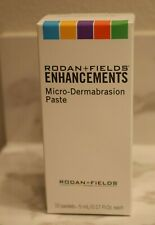 Rodan and Fields Enhancements Micro Dermabrasion Paste 10 Packets Sealed