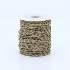 2mm colors Copper Necklace Cable chain findings for DIY jewelry making Material