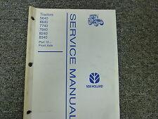 New Holland 5640 6640 7740 7840 8240 8340 Tractor Service Repair Manual Part 10