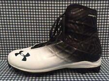 Under Armour Highlight RM Mens Football Cleats Size 9.5 Black White 1240471-011