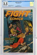 Fight Comics #48 CGC 3.5, Matt Baker Art, Great Cover
