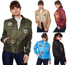 Zip Hip Length Biker Jackets for Women