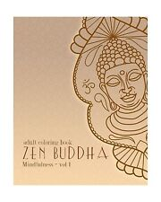 Adult Coloring Books: Zen Buddha: Doodles and Patterns to Color... Free Shipping