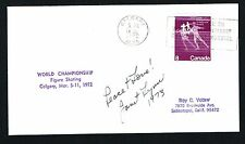Janet Lynn signed autograph auto Skating World Championship Postal Cover