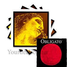^ Evah Pirazzi Gold Violin String Set 4/4 Gold G--- Obligato Steel E Loop