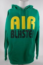 2015 NWOT MENS AIRBLASTER AIR PULLOVER HOODIE $60 L kelly green snowboard jacket