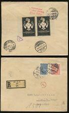 AUSTRIA 1922 REGISTERED ADVERTISING LABELS DEUTSCHE GEWERBESCHAU MUNCHEN