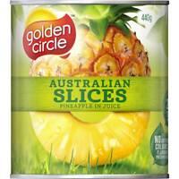 Golden Circle Pineapple Sliced In Juice 440g
