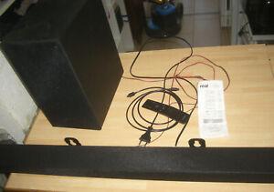 SAMSUNG HW-T420 2.1 Channel Soundbar Bluetooth schwarz 200W kabellos, Heimkino