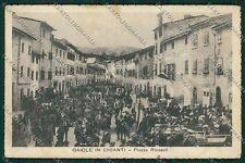 Siena Gaiole in Chianti PIEGA cartolina QQ1880