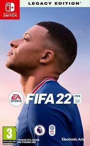 FIFA 22 (Switch) Brand New & Sealed Free UK P&P