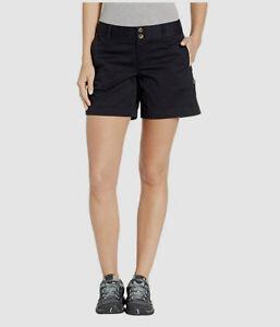 $54 Mountain Khakis Women's Black Classic Fit Roll Up Chino Short Shorts Size 2