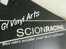 Scion Racing Windshield Sun Visor Strip Decals Cars Stickers Banners