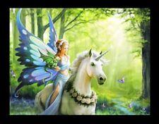 Pequeño Lienzo de Pared Unicornio -Realm of encantamiento - Anne Stokes Fantasy