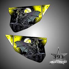 Polaris RZR 1000 XP TMW Sidewinder Venom Door Wrap Graphics Guardian Yellow
