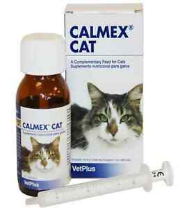 Calmex Cat Drops 60ml calming relieves stress and anxiety fast acting