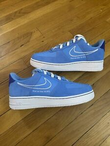 Nike Air Force 1 '07 LV8 'First Use University Blue' DB3597-400 Men's Size 10.5
