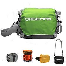 Caseman AW01 DSLR camera bag shoulder messenger + fanny pack waist bag 2 in 1