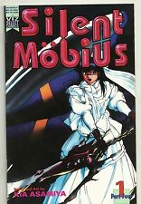 SILENT MOBIUS PART 4 - SET 1 - 5  KIA ASAMIYA - 1993 VIZ ANIME MANGA B&W LOT