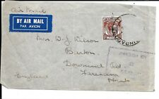 MALAYA KG6 WWII PASSED BY CENSOR ( STAMP MISSING)
